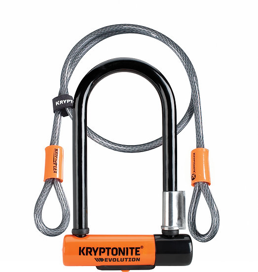 Kryptonite Evolution Mini 7 Lock with 4 Foot Cable