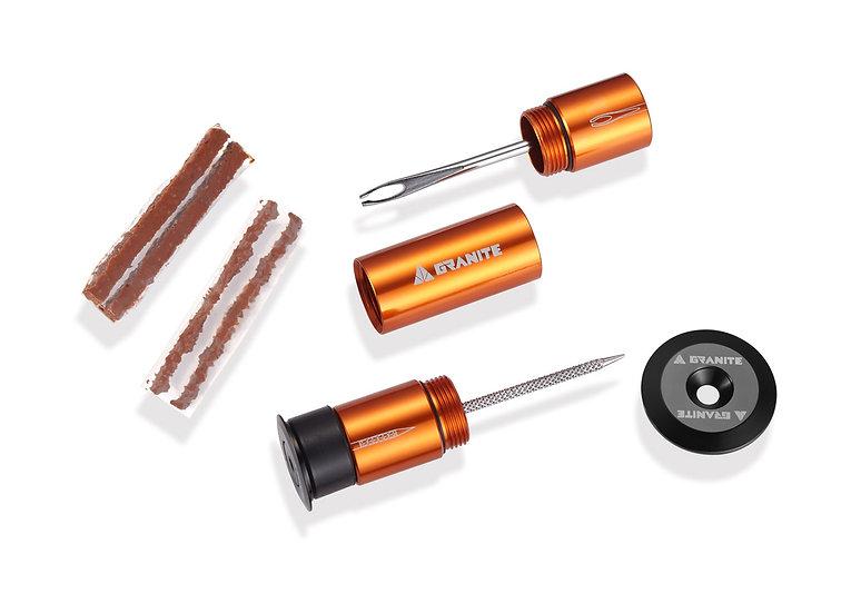 Granite Stash Tyre Plug Handlebar Kit