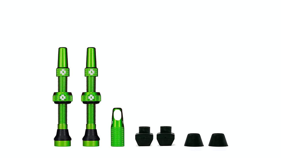 Muc-Off Green Tubeless Presta Valve (Pair)