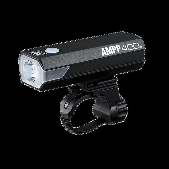 CATEYE AMPP 400 XC USB RECHARGEABLE FRONT LIGHT (400 LUMEN)