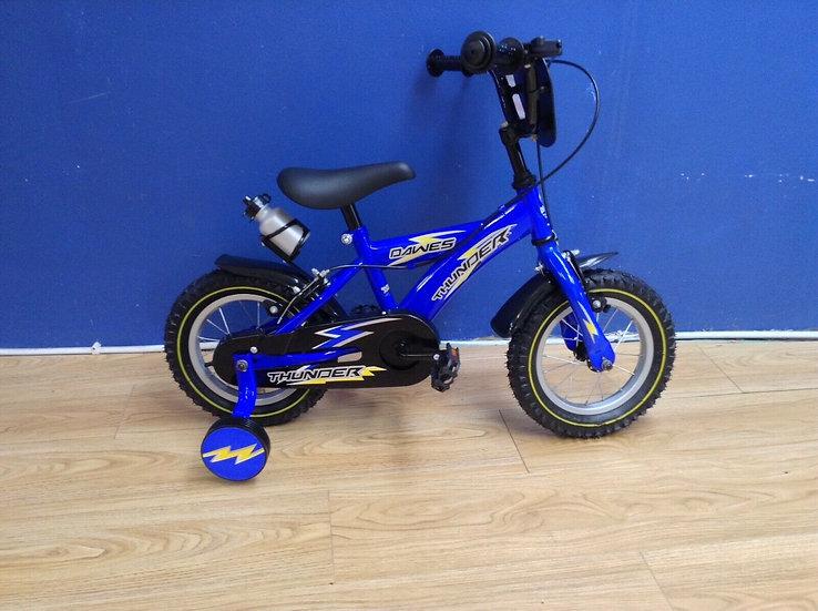 """Shop Display Dawes Thunder Kids Bike/12"""" Wheel/Excellent Condition/Blue"""