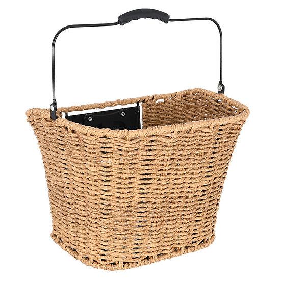 Oxford Magdalen Rattan Front QR Basket