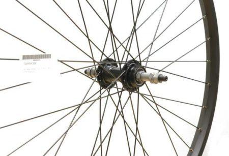 26″ Rear Wheel – S/S – Freewheel – Black MTB