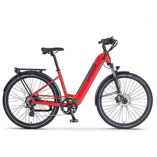 Wisper Wayfarer H9 Hub-Drive Step-Through Electric Bike (City)