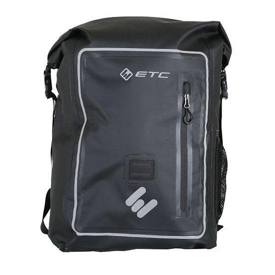 ETC Arid Waterproof Roll Top Backpack 25L Black