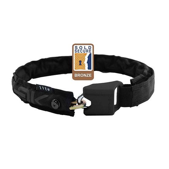 Hiplok Lite Wearable Chain Lock 6mm X 75cm - Waist 24-44 Inches (Bronze Secure)