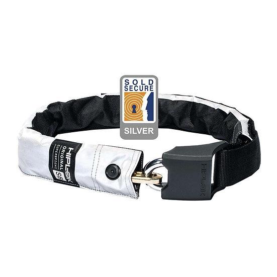 Hiplok Original V1.5 Wearable Chain Lock - Super Bright (Silver Secure)