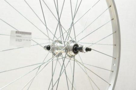 26″ Rear Wheel – S/S – Freewheel – Silver MTB