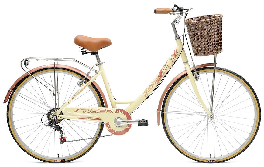 Tiger Traditional Woman's Town Bike 700c Wheel
