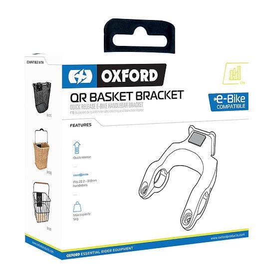 Oxford Quick Release Basket Handlebar Bracket For E-bike