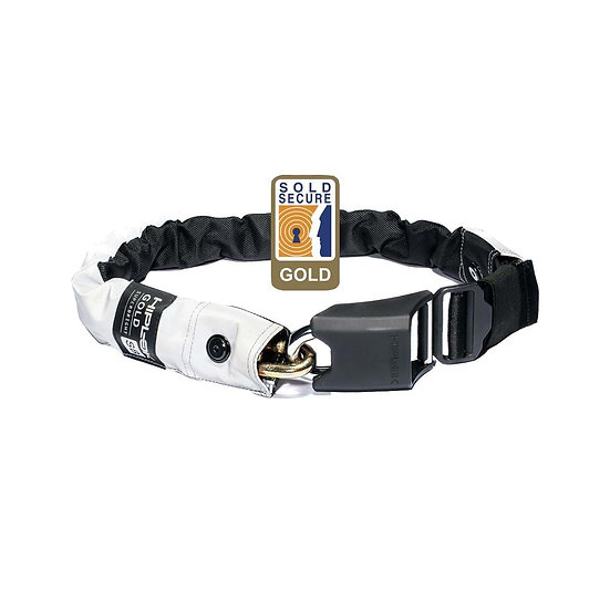 Hiplok Gold Wearable Chain Lock - Super Bright (Gold Secure)