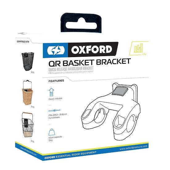 Oxford Quick Release Basket Handlebar Bracket