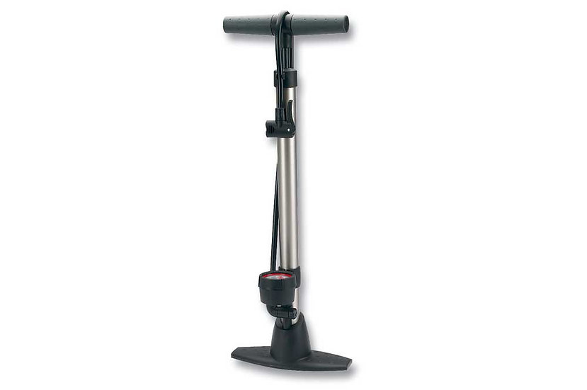 Raleigh Alloy Floor Pump W/Gauge