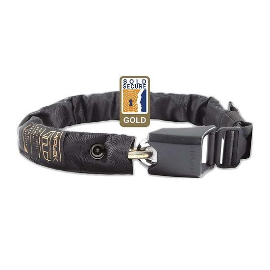 "Hiplok Gold Wearable Chain Lock 10mm X 85cm - Waist 24-44"" (Gold)"