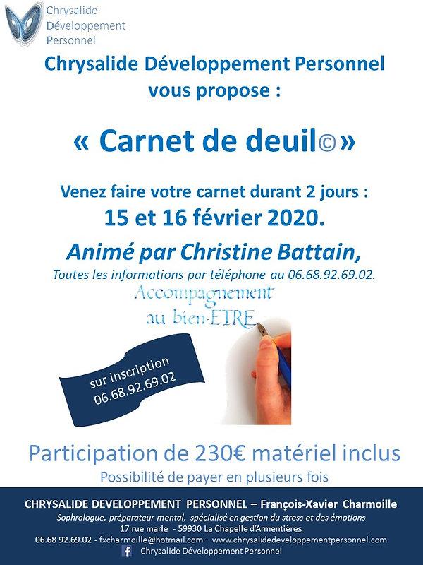 AFFICHE_15_16_fév_2020_ATELIER_CARNET_DE
