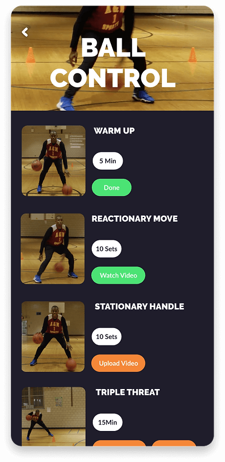 3.3.1 _ Assigned Workout (Play) (Athlete