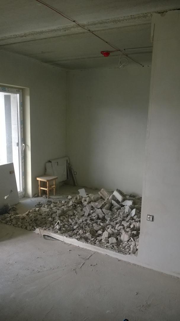 Sienų griovimas demontavimo darbai