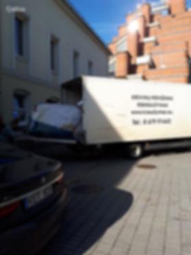 pianinų pervežimas Klaipėdos apskritis