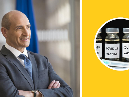 Health Minister Chris Fearne Unveils Malta's Covid-19 Vaccine Strategy