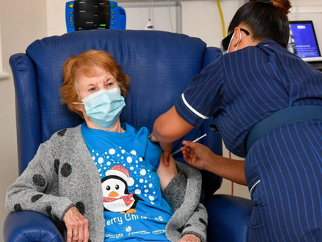 U.K. Patient Becomes First In The World To Receive Vaccine