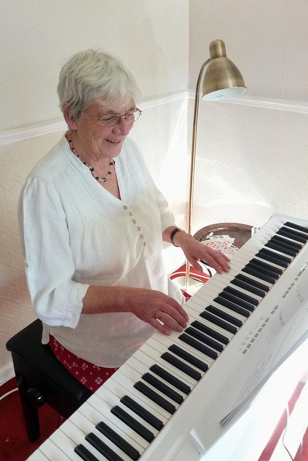 Adult pianist