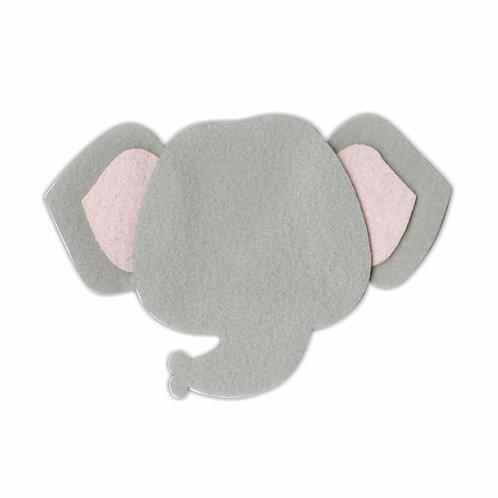 Cabeça Elefantinho (Cinza Claro)