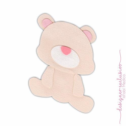 Urso P (Bege Palha)