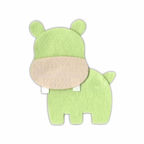 Hipopótamo (Verde)