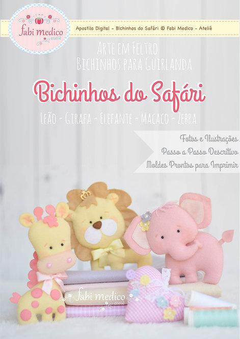 Bichinhos do Safári para Guirlanda