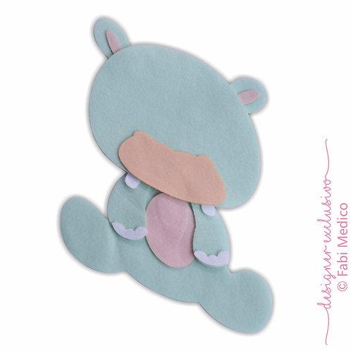 Hipopótamo (Verde Água)