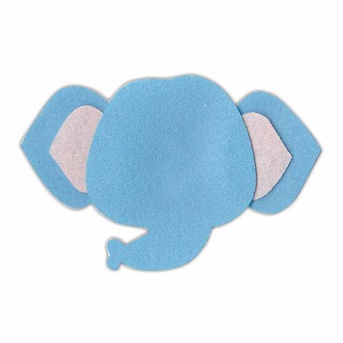 Cabeça Elefantinho (Azul Claro)