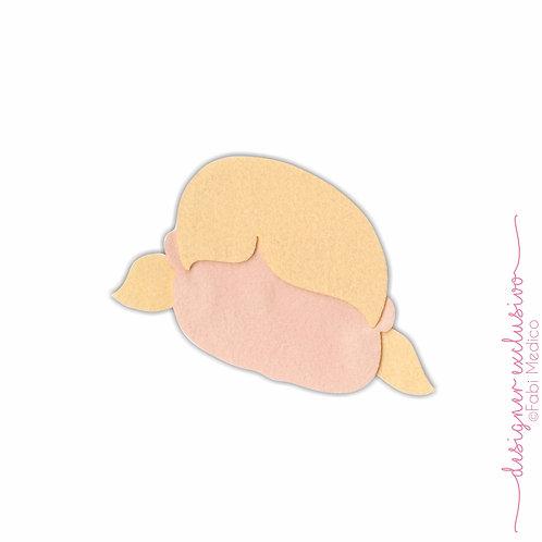 Cabeça Bonequinha (Amarelo)