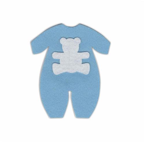 Macacão Baby (Azul)