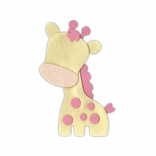 Girafinha (Creme/Rosa Claro)