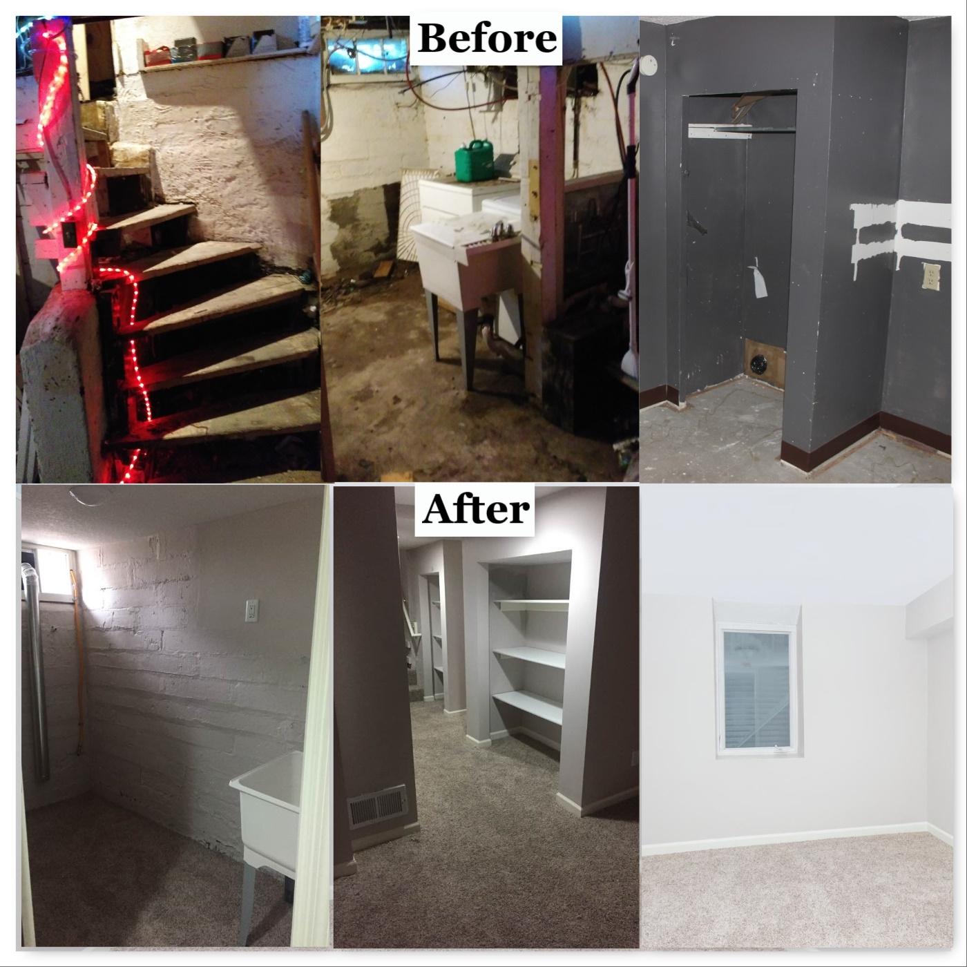 Various basement photos