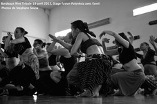 "Bordeaux Rives Tribal Festival Stage de danses métissées, ""Polynésia"" avec Esmii."