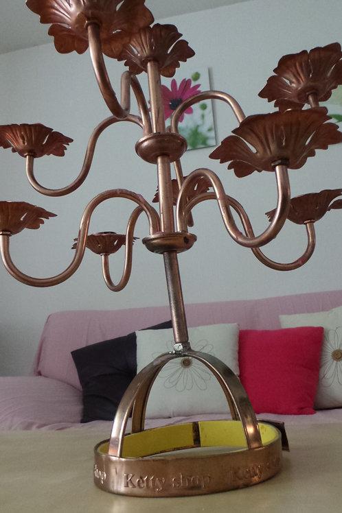 chandelier de port de tête