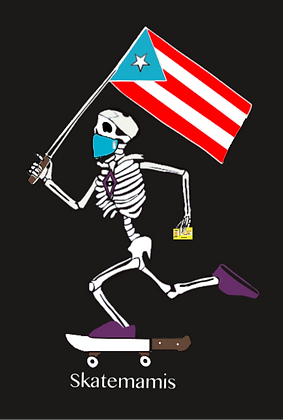 PR Till Death Electoral (version) Sticker