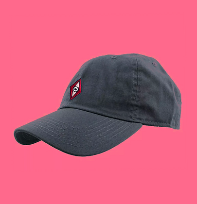 """Dad Hat "" Charcoal Grey"