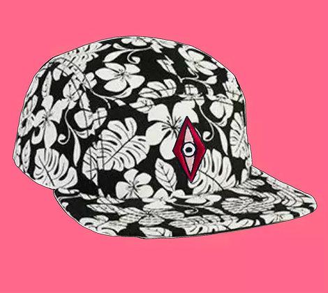 FIVE PANEL HAWAIIAN HAT