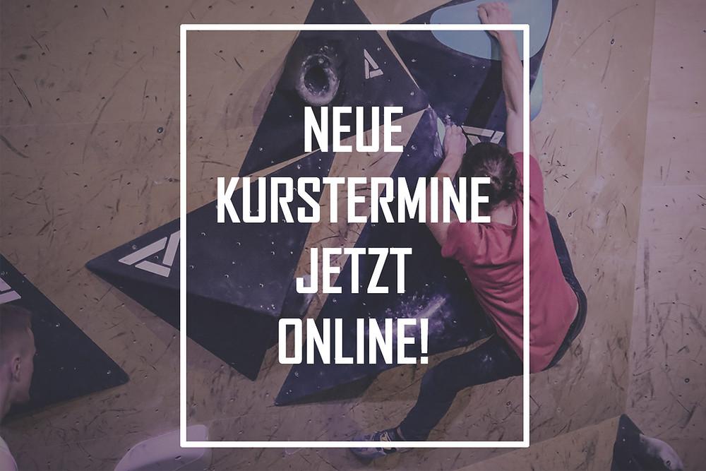 Jetzt Kurstermin online buchen!
