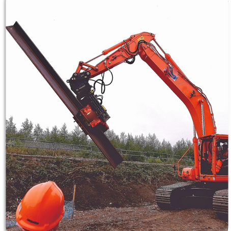Recycling Tools | Vibro Hammer Pile Driver DH Series