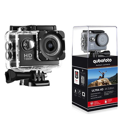 Action Camera 480P HD DV Cam with Waterproof Case and Night Vision 1080P