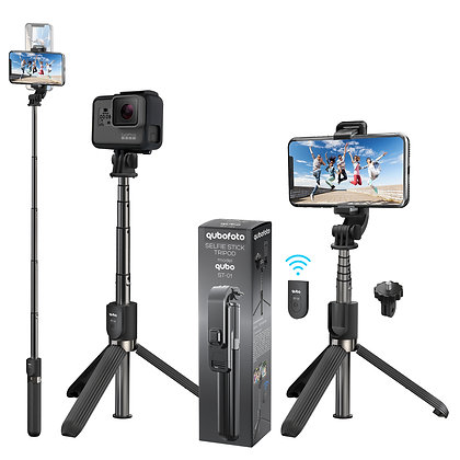 Bluetooth Selfie Stick Tripod mod. qubo ST-01 Tabletop Tripod for iPhone/Android