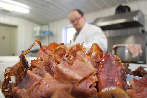 Jerky de porc à l'érable