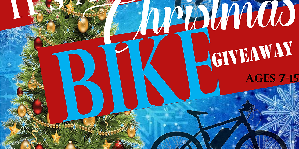 BOC Christmas Bike Giveaway