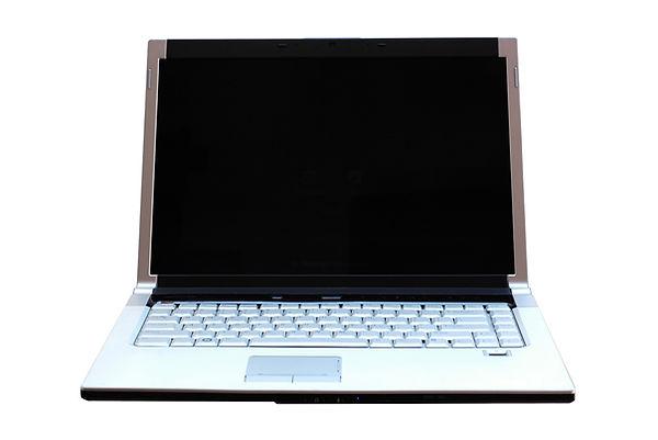 ordinateur portable brillant