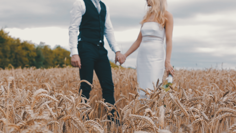 JO AND RICH - BOHO BARN WEDDING