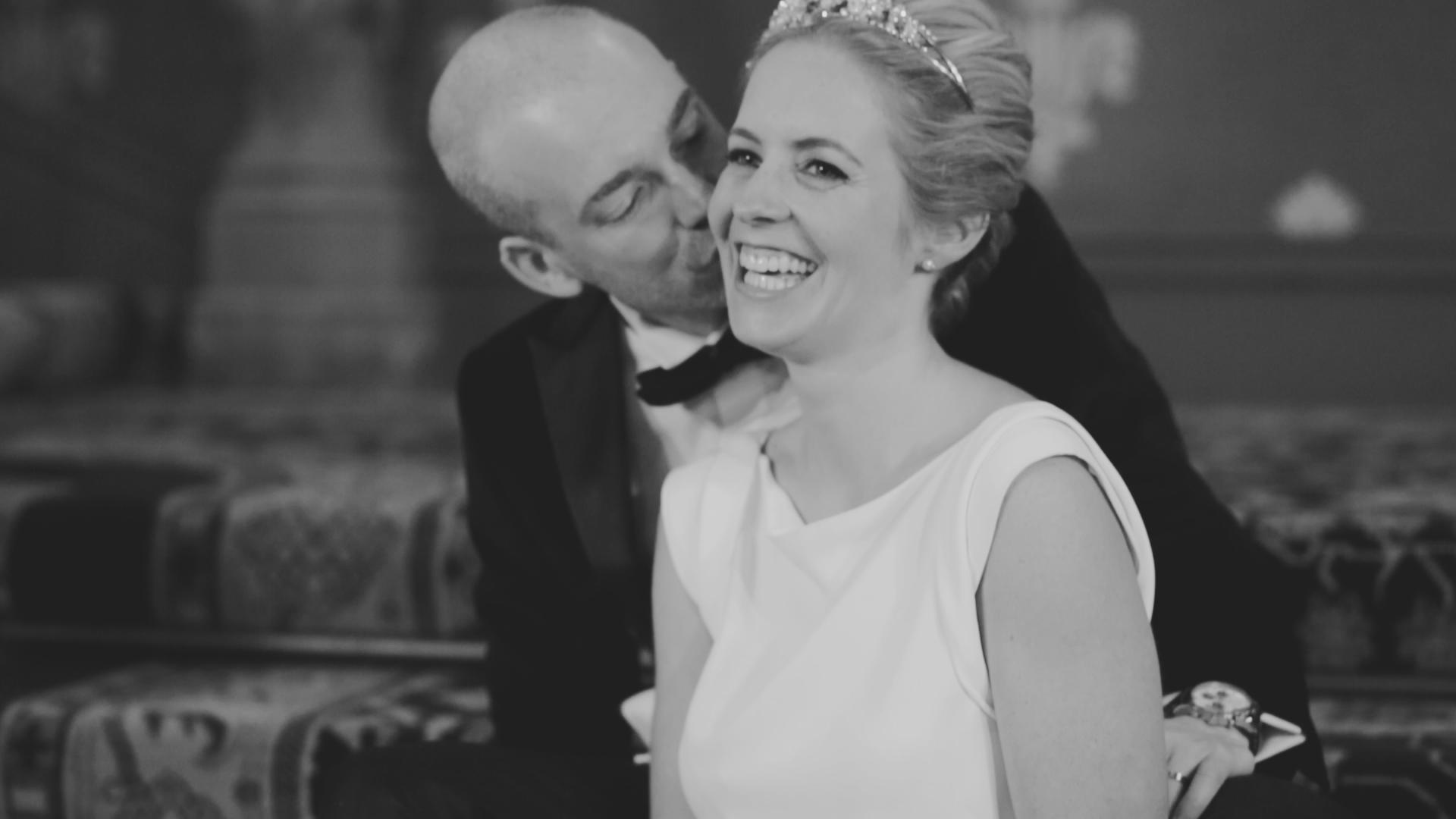 BEN AND SARA - BLACK TIE WEDDING