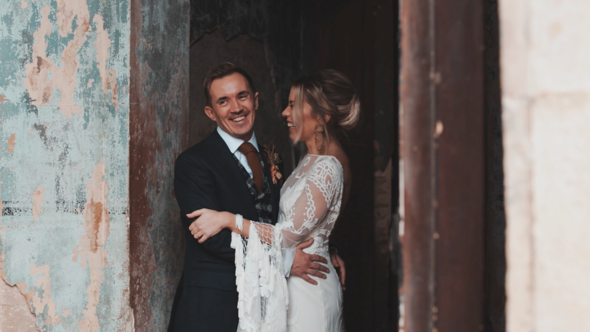 SAM AND CHRIS - LONDON INDUSTRIAL BOHO WEDDING